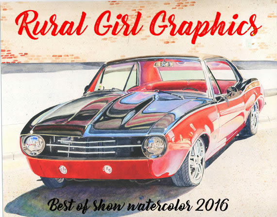 Rural Girl Graphics