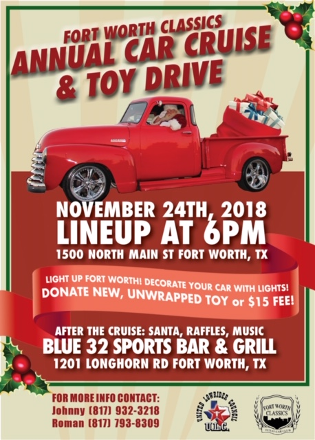 Fort Worth Classics Toy Drive