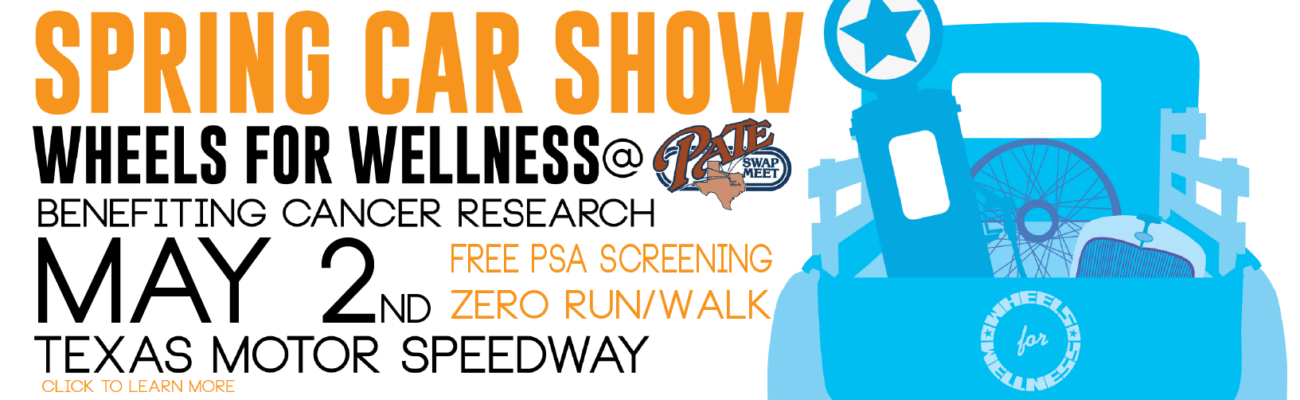 Wheels for Wellness at Pate Car Show Banner